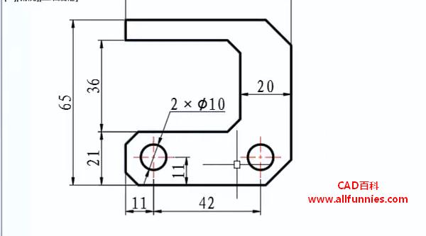 CAD引线标注命令快捷键(教你如何标注卡槽尺寸)