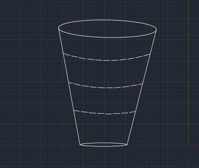 怎么用CAD绘制漏斗平面图