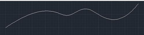 如何用CAD绘制曲线