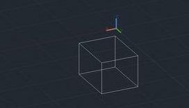 怎么用CAD绘制长方体