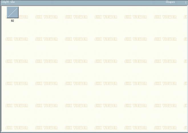 CAD字体LDQ30.SHX下载