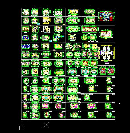 1000多套CAD建筑户型图纸DWG源文件打包下载