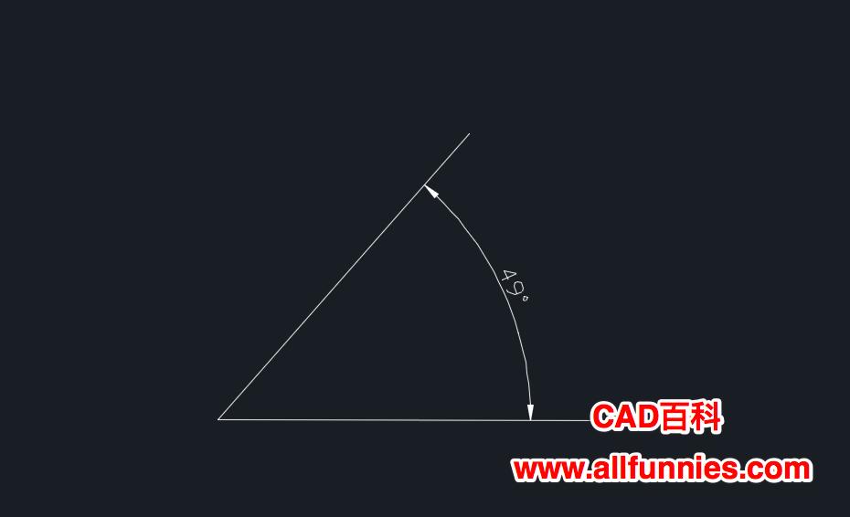 CAD如何置角度标注数字的精度
