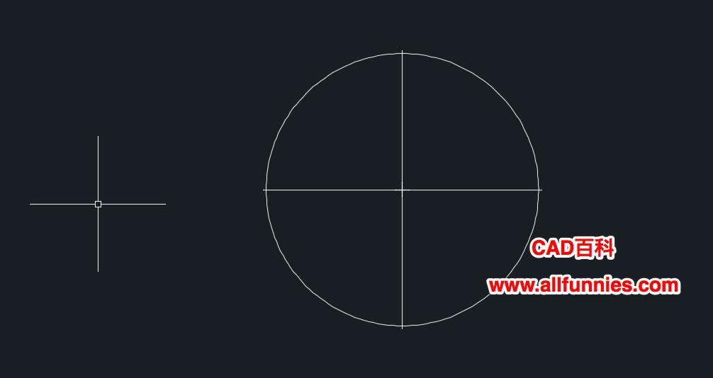 CAD圆的中心线怎么画(教你快速绘制圆的中心线)
