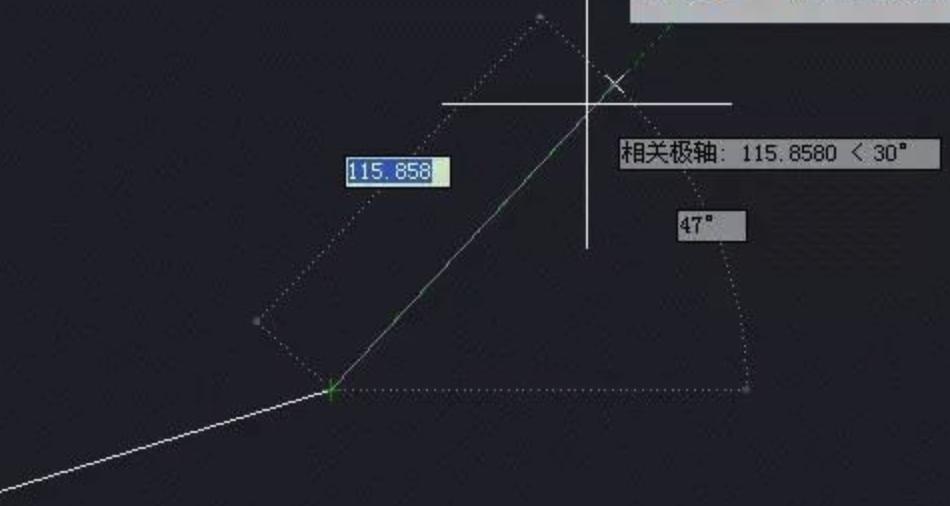 CAD相对角度怎么画,教你画相对于某一条直线的角度