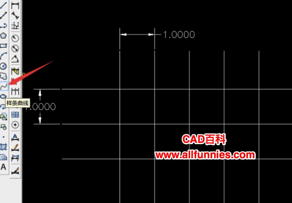 CAD如何画波浪线,快捷键是什么