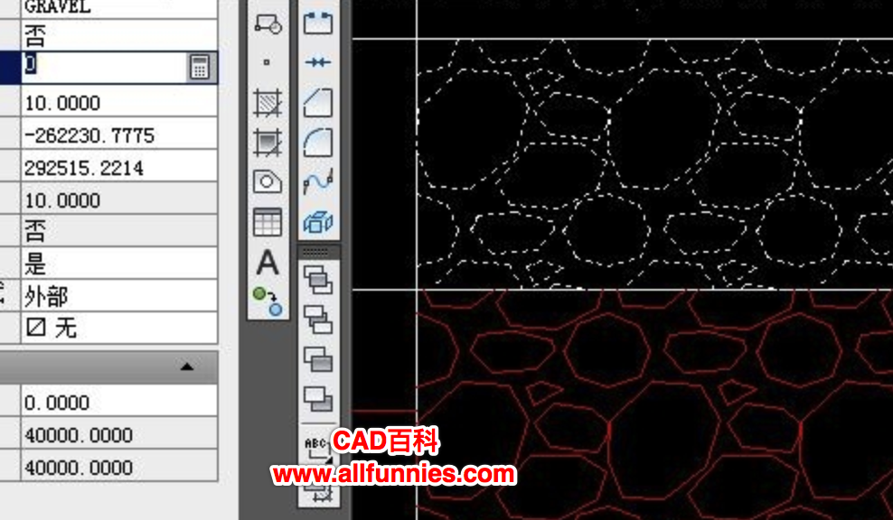 解决CAD填充图案显示乱码(白色)的有效方法