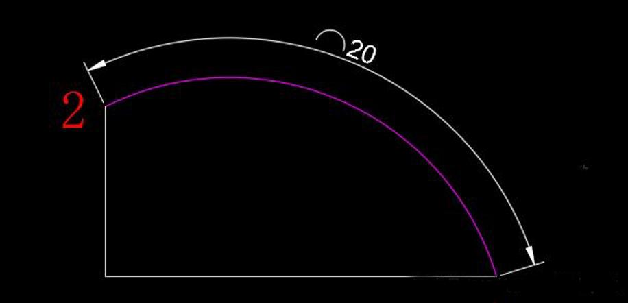 CAD绘制指定长度的圆弧的2种方法