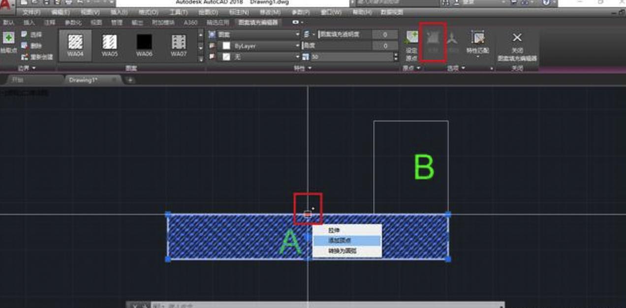 CAD填充图案的常用操作技巧