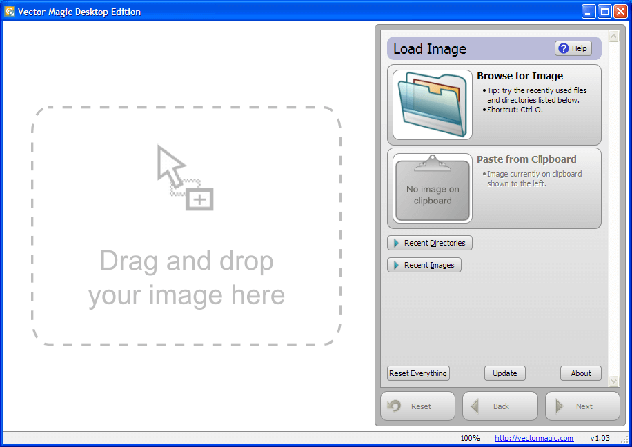 JPG转CAD软件Vector Magic 1.15绿色汉化版下载