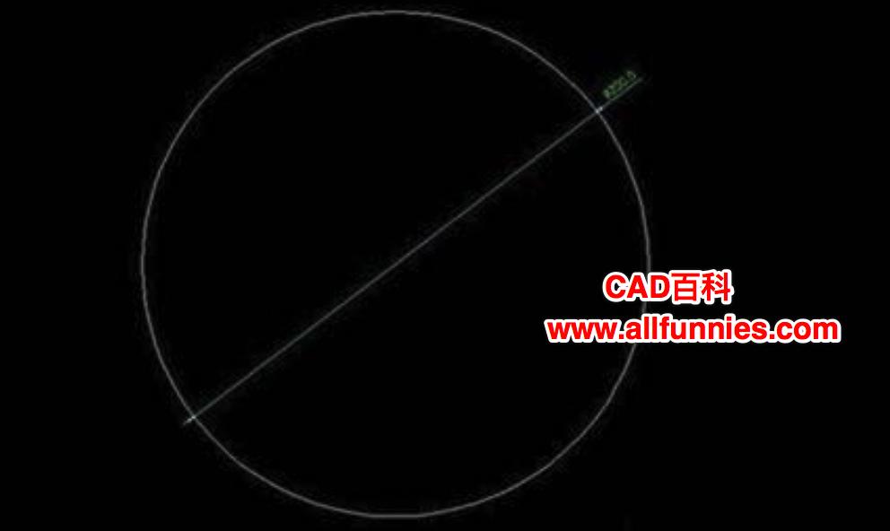 CAD怎么按照一定比例放大或缩小圆?