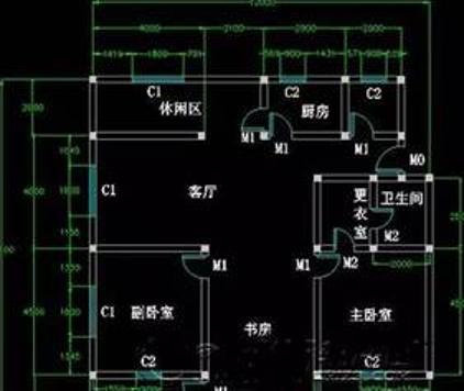 CAD户型图绘制教程,教你如何画户型图