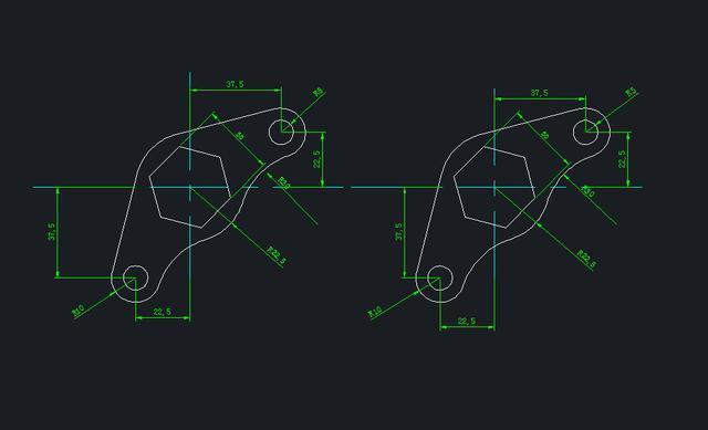 想学CAD,完成以下5张CAD练习图你就入门了