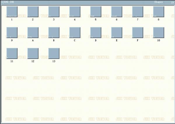 CAD字体ZJXHZ.shx下载
