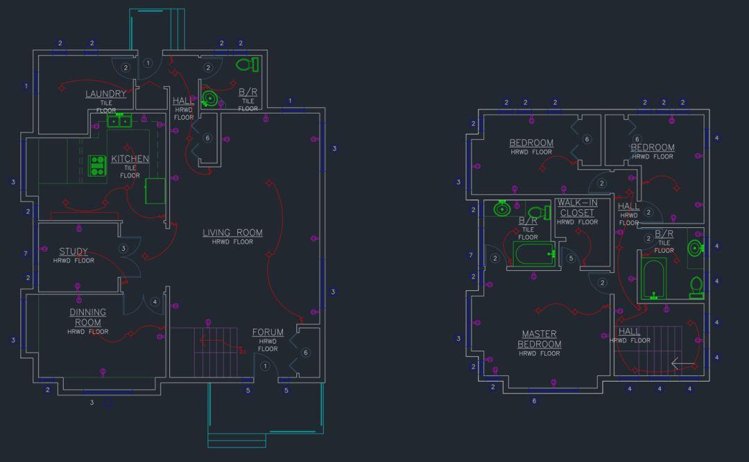CAD的DWG比较功能详解,原来还能这么比较图纸