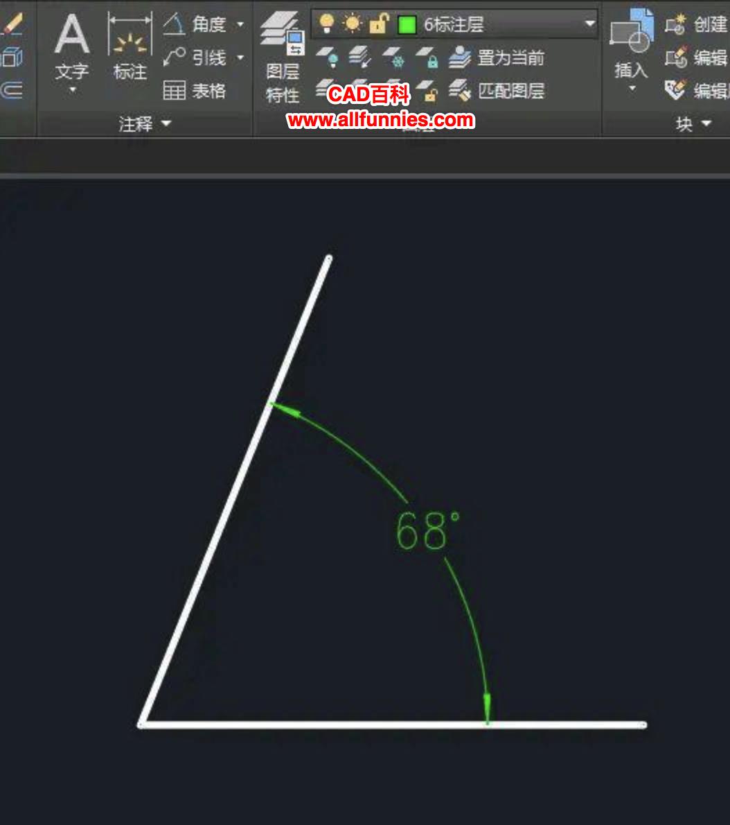 CAD等分角度怎么用,快捷键是什么