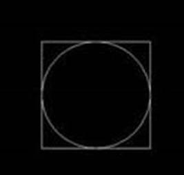 中望CAD如何用正四边形辅助内切圆的绘制