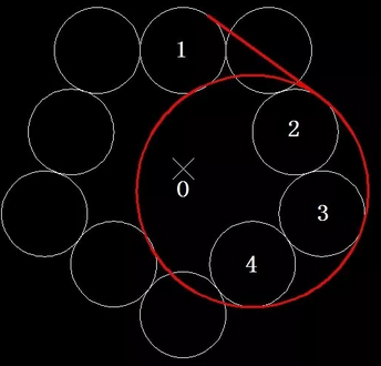 中望CAD如何求图形部分阴影面积