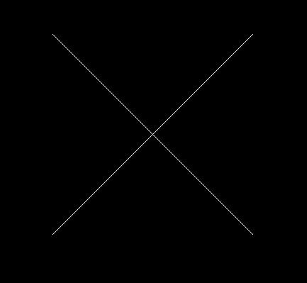 CAD中如何绘制叉号(x)