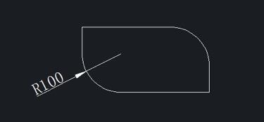 CAD怎么标注圆角,快捷键命令是什么?