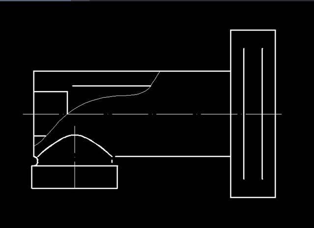 CAD如何绘制两条平行线间的倒圆角
