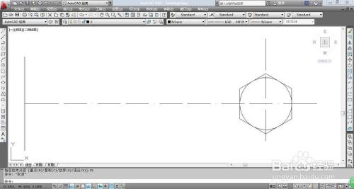 CAD如何绘制螺栓